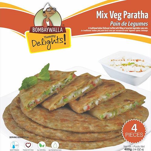 Yummy Delights Mix Veg Paratha