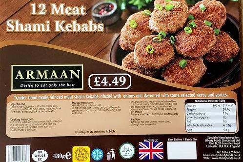 Armaan 12 Lamb Shami Kebabs