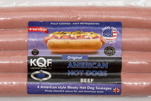 KQF American Beef Hot Dog