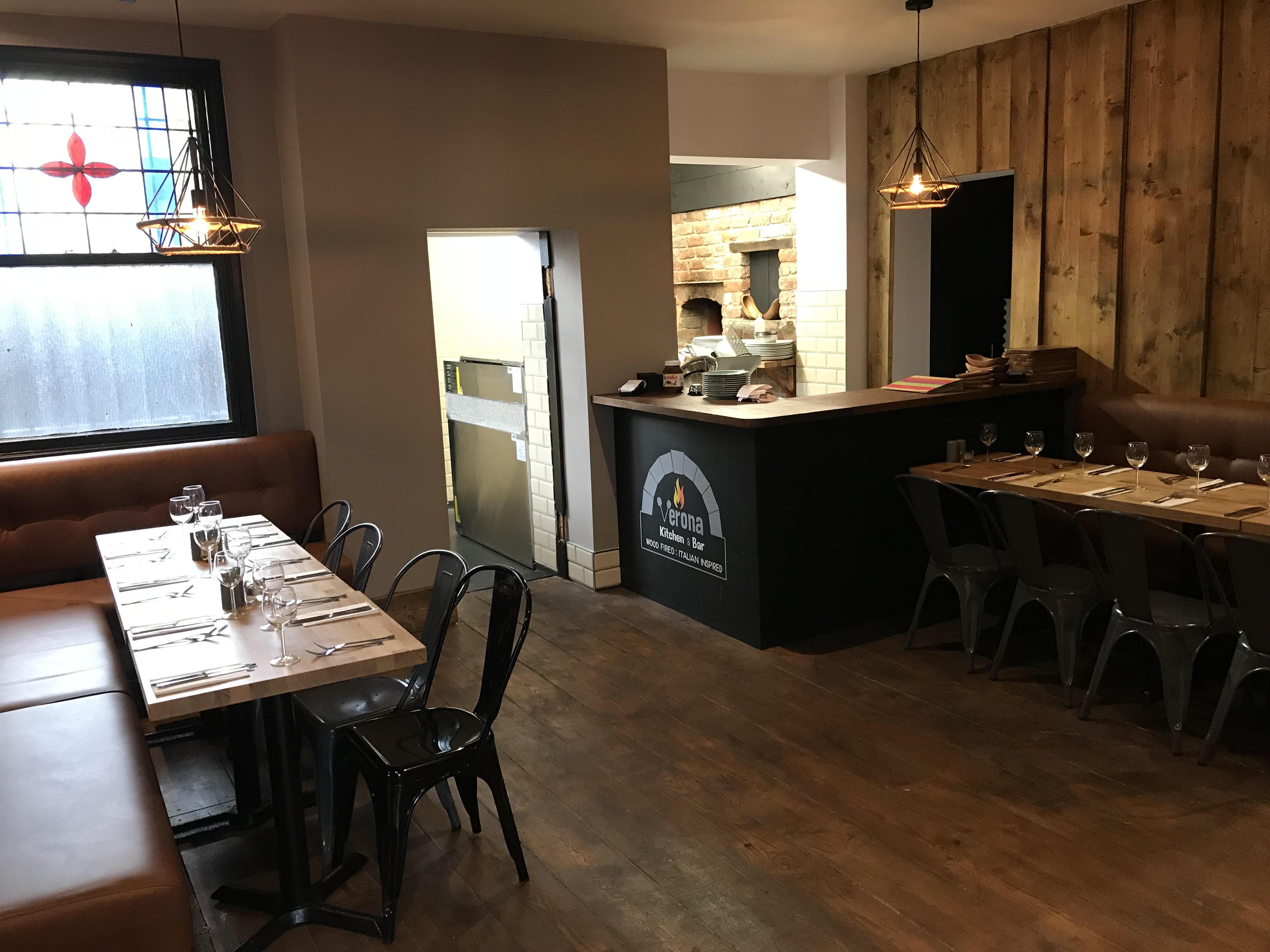 verona kitchen bar italian restaurant in newton le willows