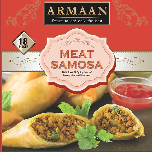18 Meat Samosa