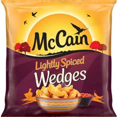 McCain Lightly Spiced Wedges