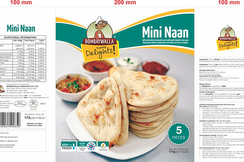 Yummy Delights Mini Naans
