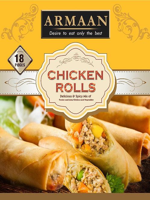 18 Chicken Rolls