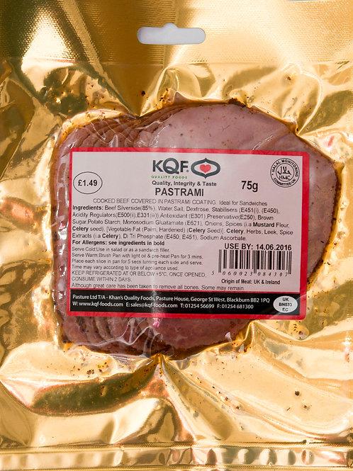 KQF Pastrami Slices
