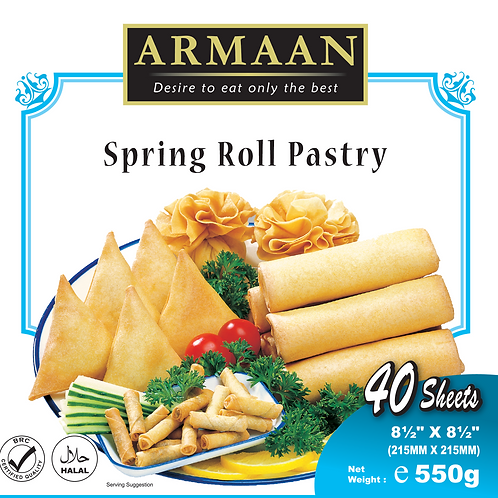 Springroll Pastry (40 sheets) 10 inches