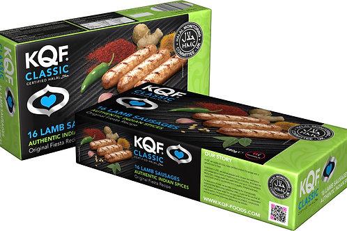 KQF Classic 16 Lamb Sausages