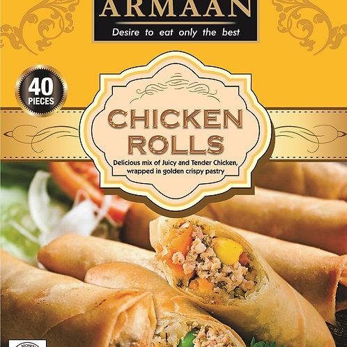 Armaan 40 Chicken Rolls