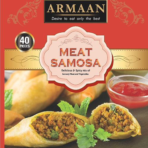 40 Meat Samosa