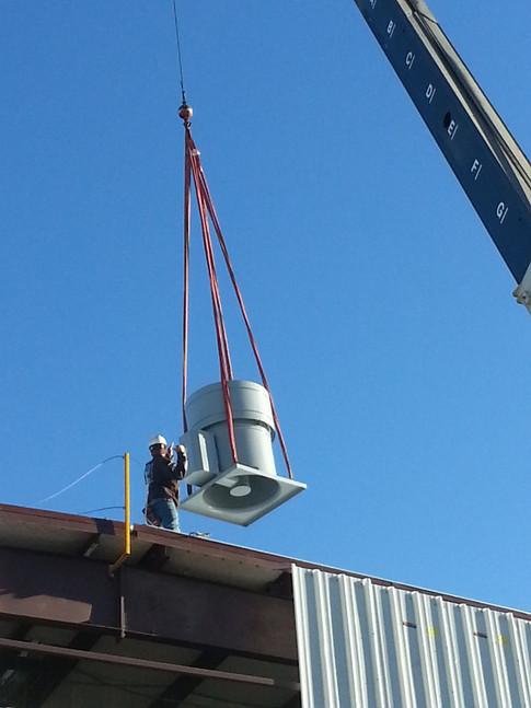 Roof Mount Insustrial Exhaust Fan
