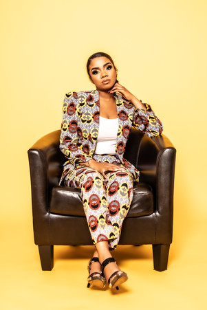 African Print Suit