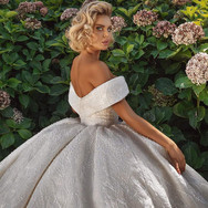 Off-the Shoulder Ball Gown