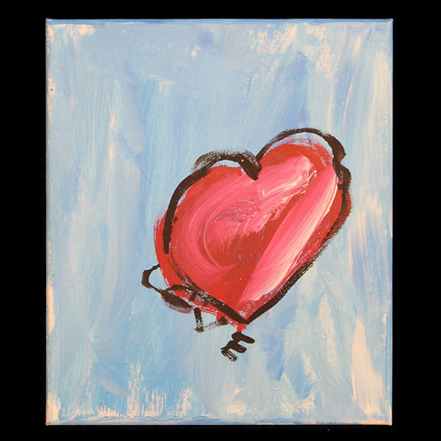 Heart Painting on canvas