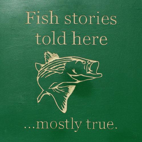 Fish Stories CNC wood