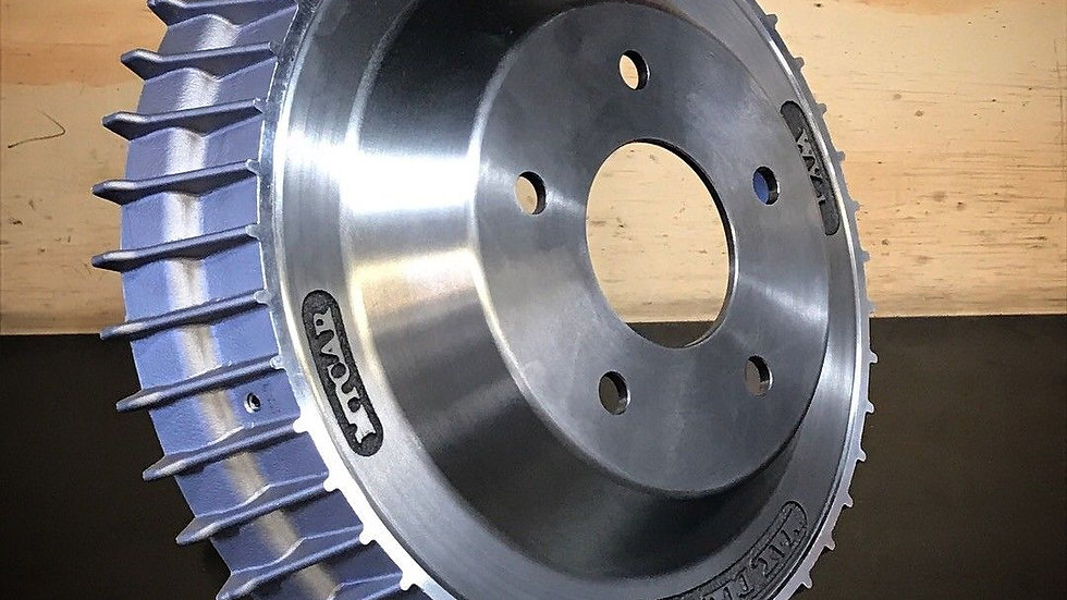 FINNED BRAKE DRUM LINCOLN STYLE