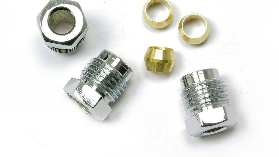 9081K-C Ford Nuts (Chrome)