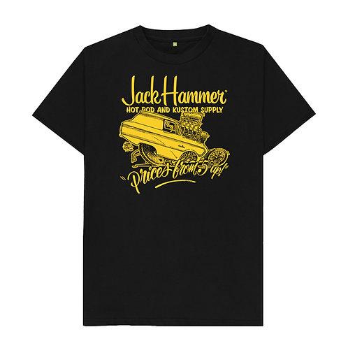 Black & Gold Tee Shirt