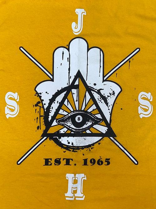 Yellow Tribal Tee Shirt