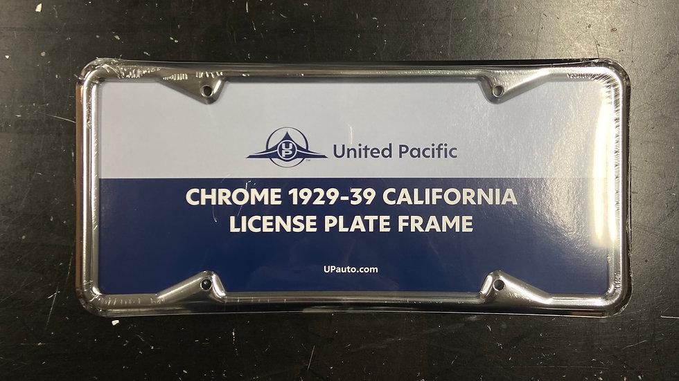 29-39 California License Frame