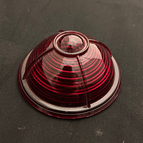 Lincoln style light lens for 37 Ford tail light