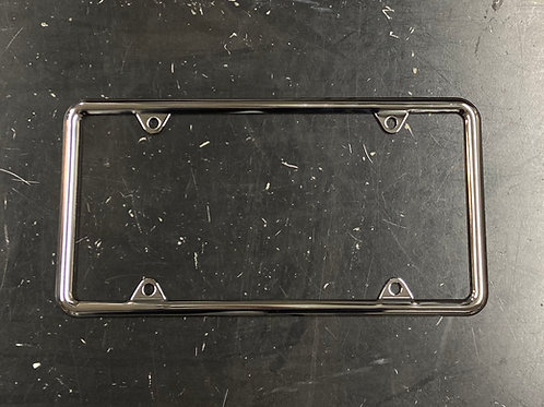 "US License Plate Frame 12x6"" Chrome"