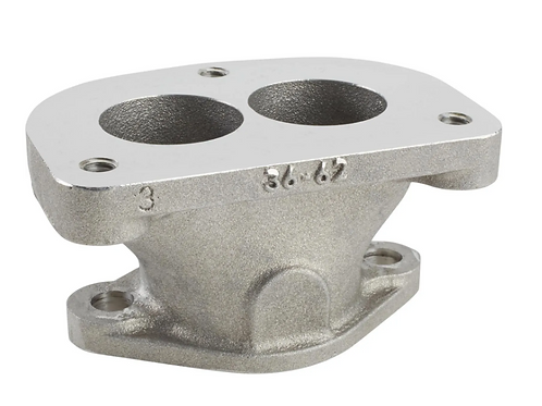 GM '36-62 L6 2 Bolt (Small Pattern) to Stromberg 3 Bolt Adapter