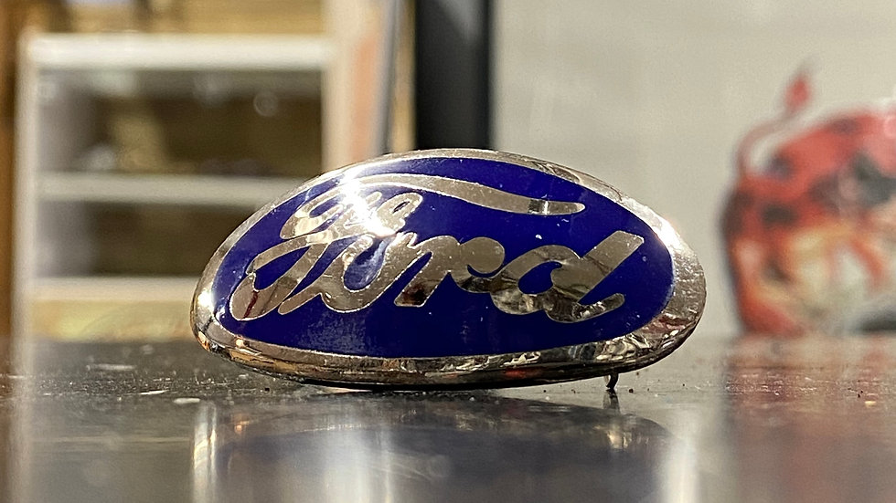 34 Ford Grill Emblem