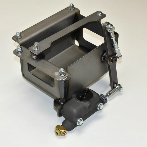 Model A master cylinder/battery box assembly