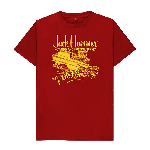 Red & Gold Tee Shirt