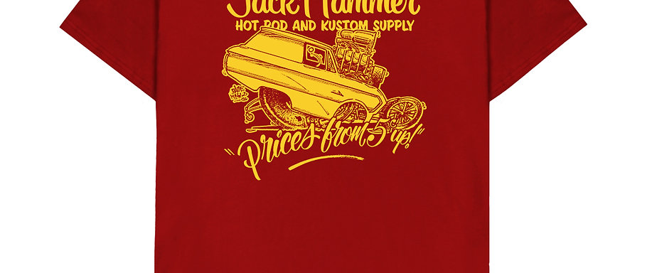 Red & Gold Tee Shirt