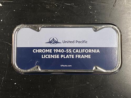 40-55 California License Frame