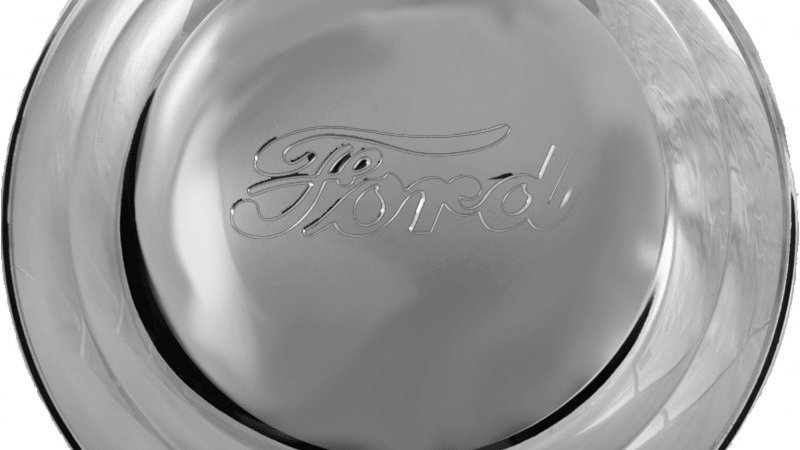 41 Ford hubcap
