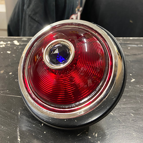 50 Pontiac Red Tail Light Assembly (Blue Middle)