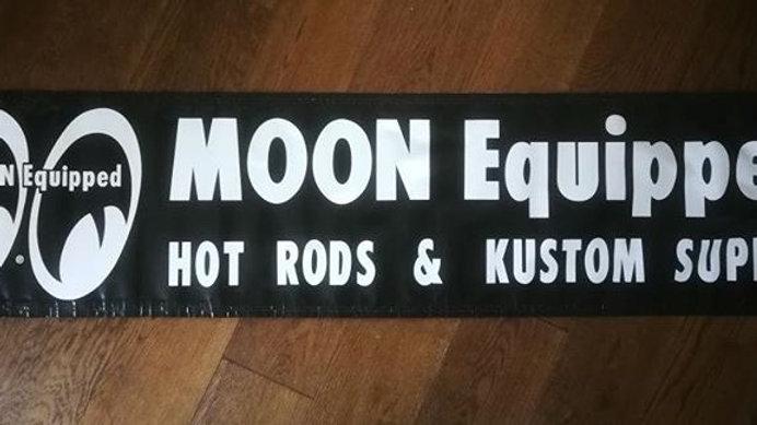 Black Mooneyes Banner