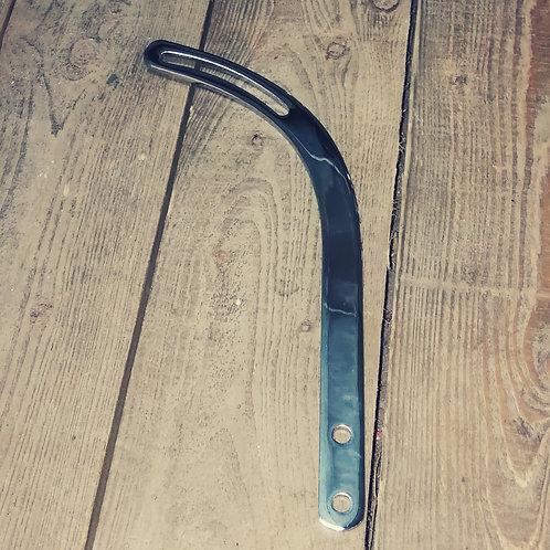 chrome hockey stick alternator bracket