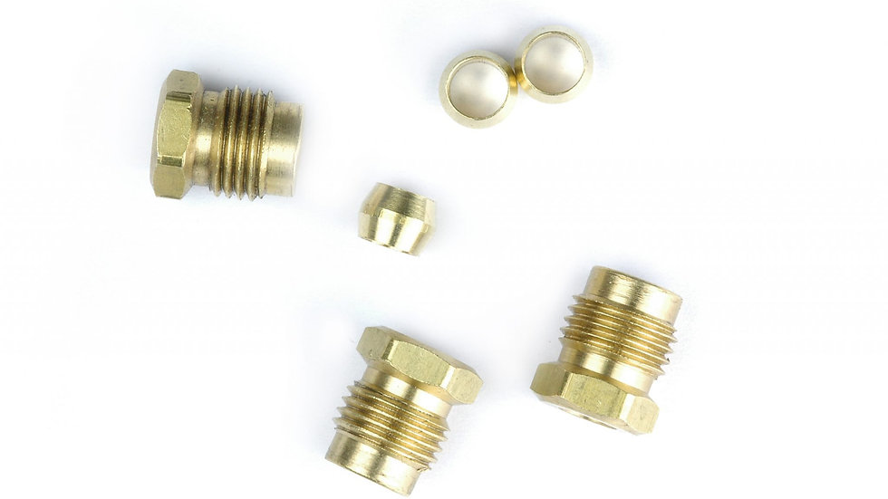 9081K Ford nut compression fittings