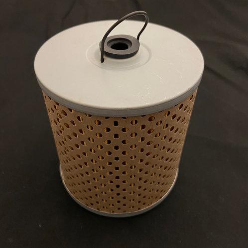 Flathead oil filter element