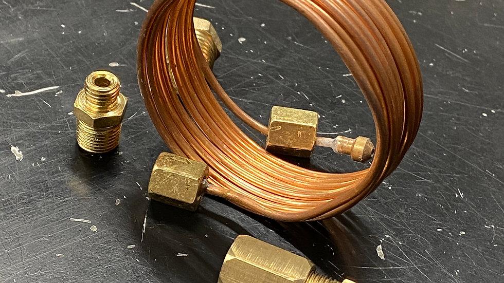 Copper Oil Pressure Tube Kit