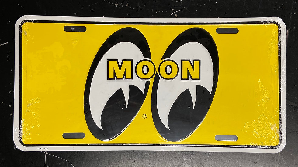 MOONEYES LOGO Licence Plate