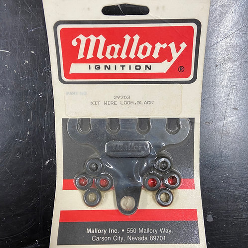 Mallory Wire Loom Kit, Chrome, 4 Hole, SM
