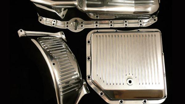 Finned Aluminum Transmission pan 700R4