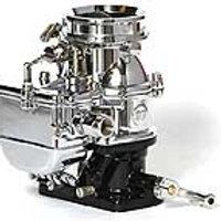 Stromberg Big 97 LZ Push Throttle - 9510A-BIG-P-LZ-CHR