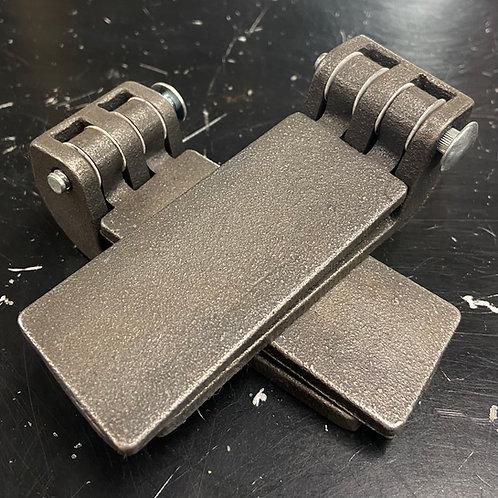 Universal Budget Door Hinges, Plain Steel (As a pair)