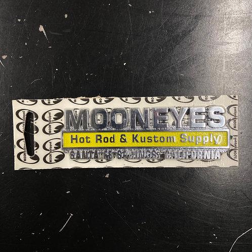 MOONEYES Self-Adhesive Emblem