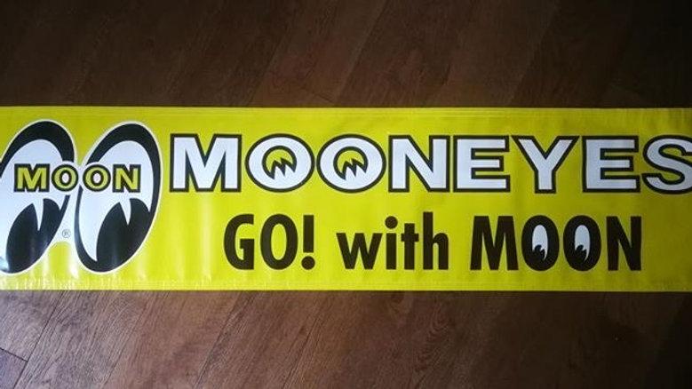 Yellow Mooneyes Banner
