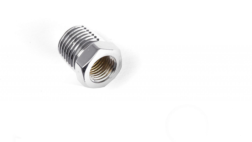 9179K-C 1-4NPT to 1-8NPT bush (Chrome)
