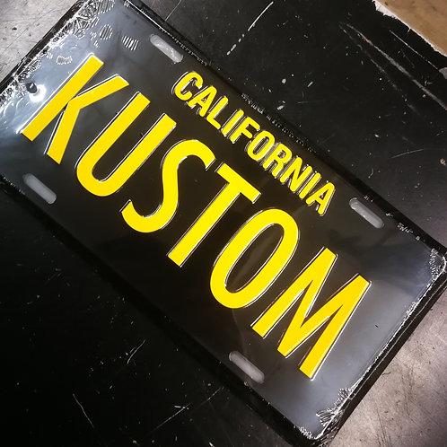 MOONEYES KUSTOM Licence Plate