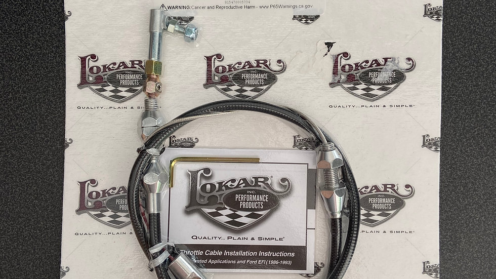 "Lokar 24"" Throttle Cable"