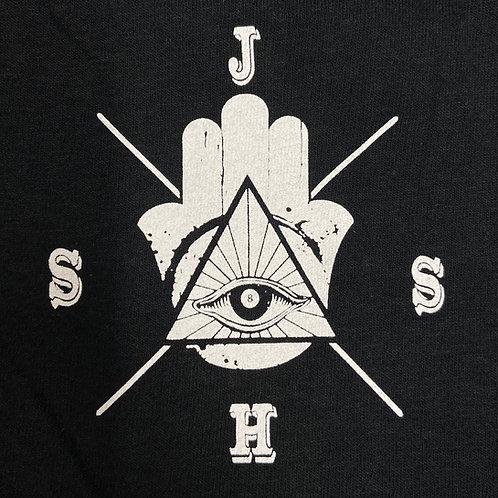 Black Tribal Tee Shirt