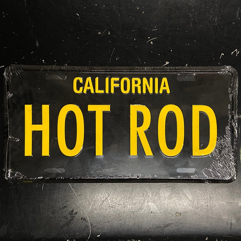 MOONEYES HOT ROD Licence Plate